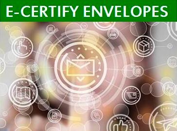 E-CERTIFY ENVELOPES PORTAL